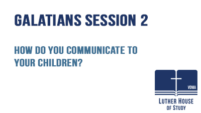 How do you communicate to your children?