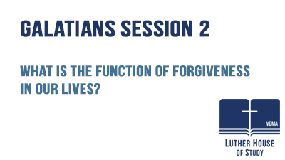 What is the function of forgiveness in our lives?