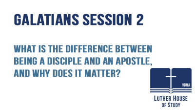 Differences being a disciple and an apostle?