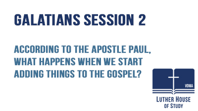 When we start adding things to the Gospel?