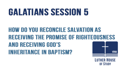 Receiving God's inheritance in Baptism?