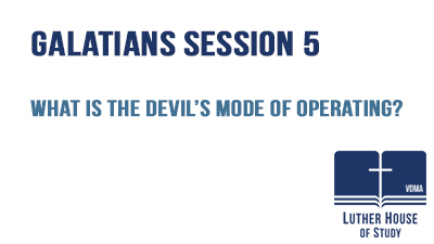 What is the Devil's mode of operating?