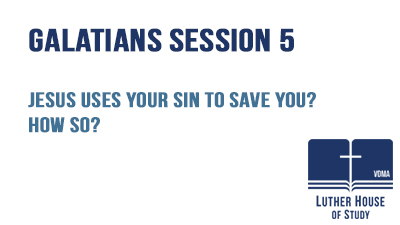 Jesus uses your sin to save you? How so?