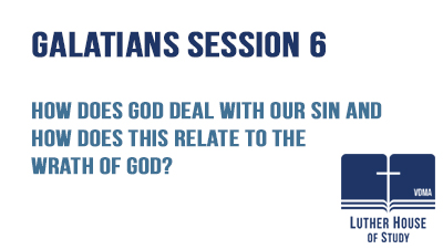 How does God deal with our sin?