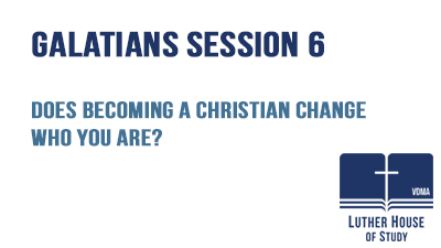 Does becoming a Christian change who you are?