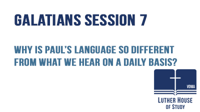 Why is Paul's language so different?