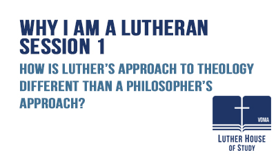 How is Luther's approach to theology different?