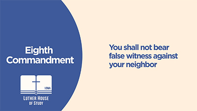 Eighth Commandment