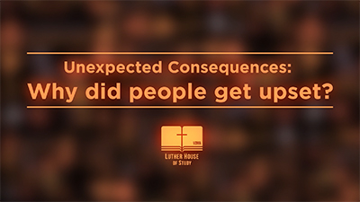Unexpected Consequences: Why Did People Get Upset?