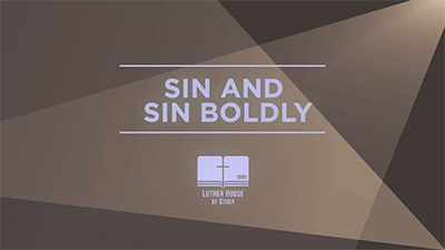 Free To Be: Sin & Sin Boldly