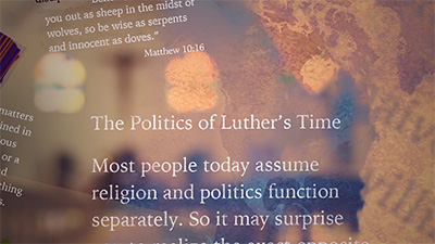Politics: The Politics of Luther's Time