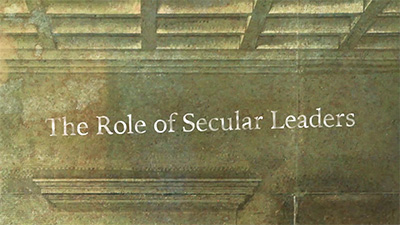 Politics: The Role Of Secular Leaders